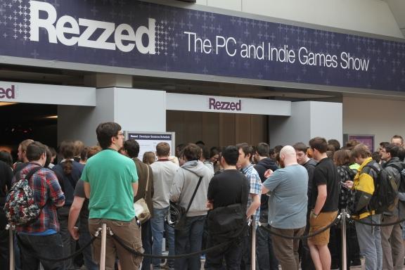 Rezzed 2013 Entrance
