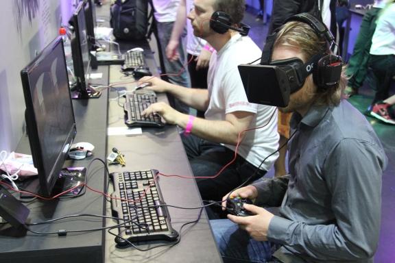 Rezzed Oculus Rift